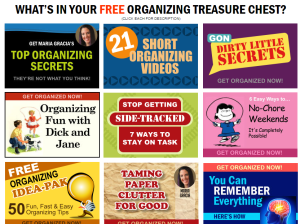 Treasure Chest - Multiple Organizing Gifts Free